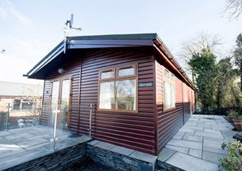 wooden lodge for sale