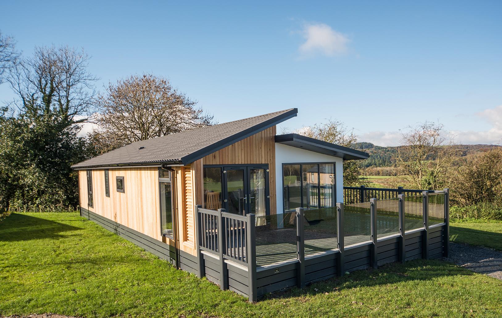 Lake District lodge homes