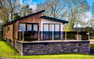 A luxury lodge in the Lake District