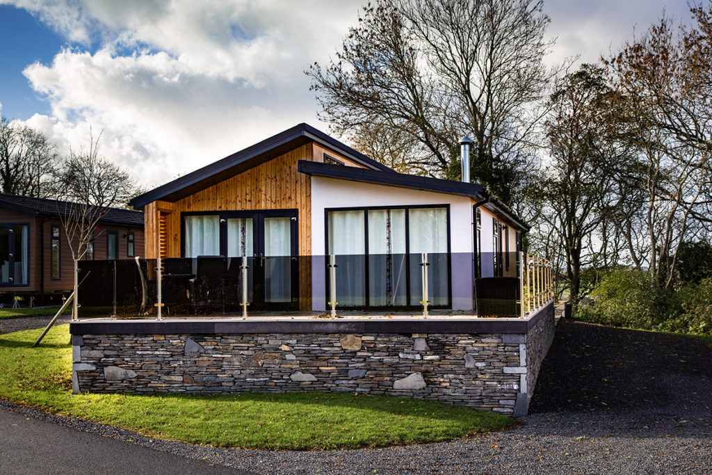 Luxury lodge in the Lake District